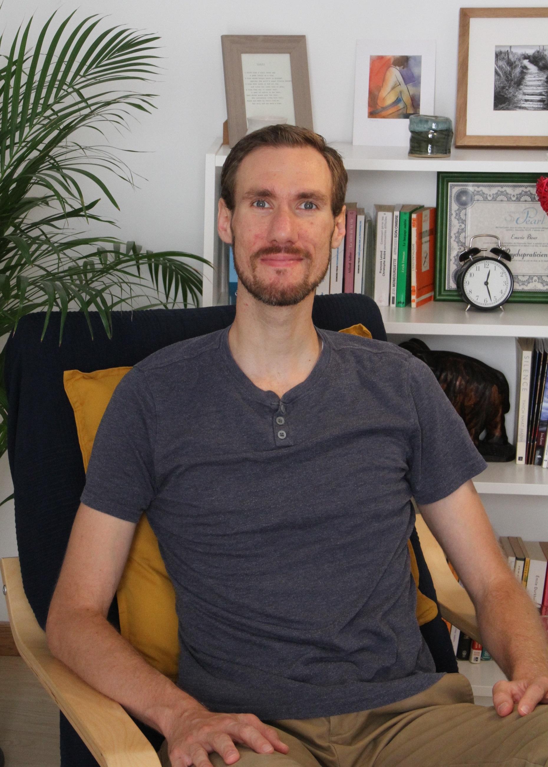 Emeric Biver, psychopraticien, psychothérapie à Sainte-Maure de Touraine, psychothérapie humaniste et existentielle
